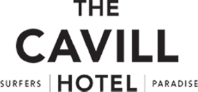 An image of the logo of The Cavill Hotel on a transparent background.